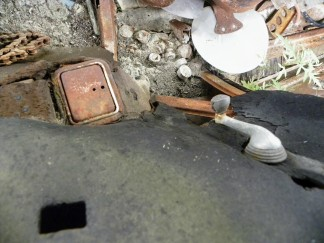 ashtray & window handle