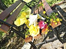 gardener's bench (© 2011 Tisha Clinkenbeard)