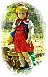 red riding hood gnome
