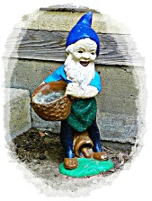 brown basket gnome