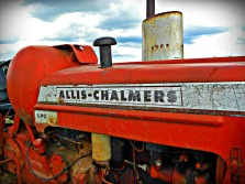 red Allis-Chalmers