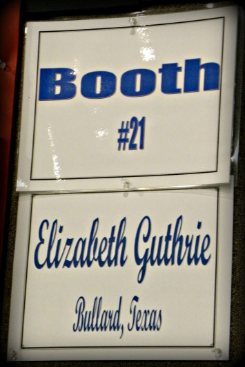 Mom's booth sign