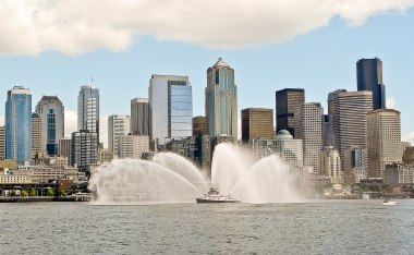 fireboat seattle downtown