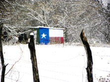 Texas in the snow