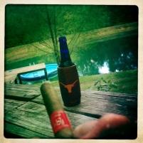beer cigar pool