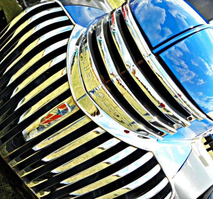chrome on the chevy