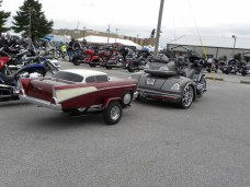 car carrier on a motorcycle