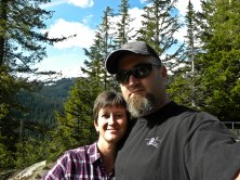 Hubby & I at Mt Rainier
