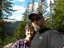 Hubby & I at Mt Rainier