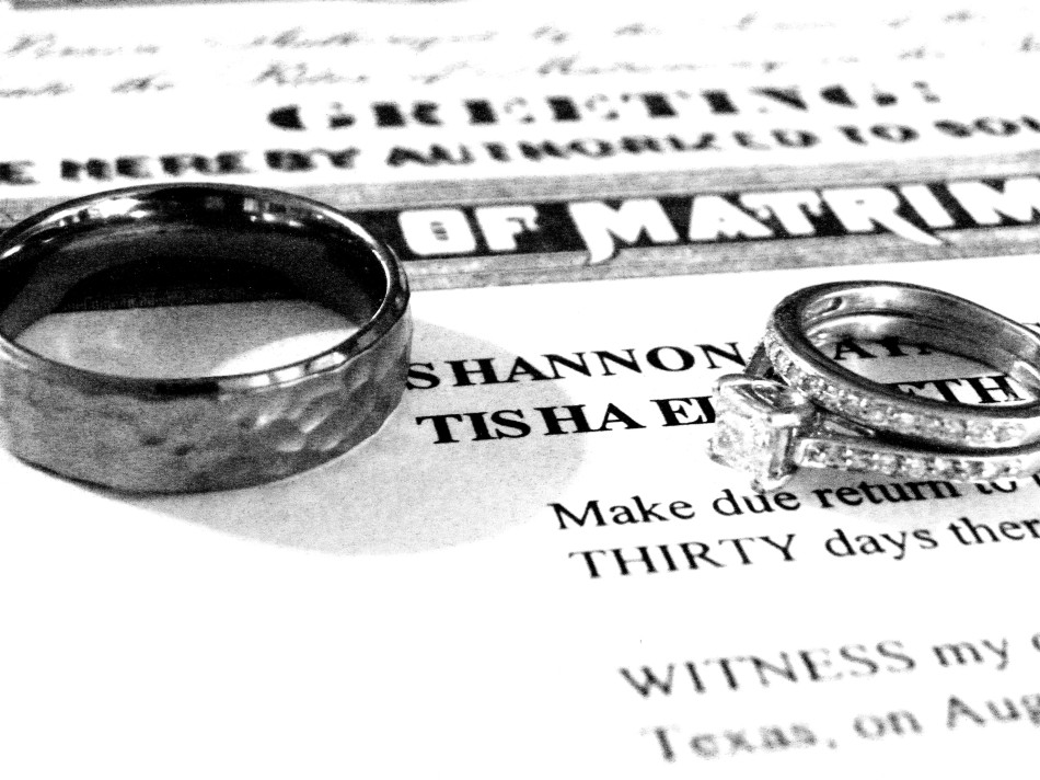 rings and license