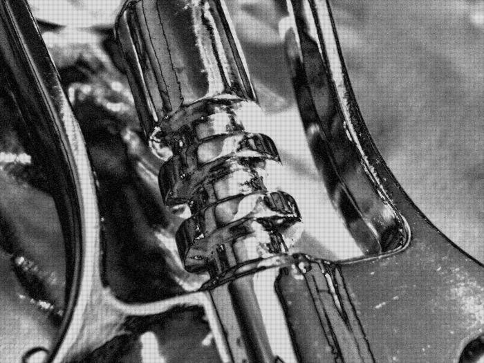 corkscrew body twisted