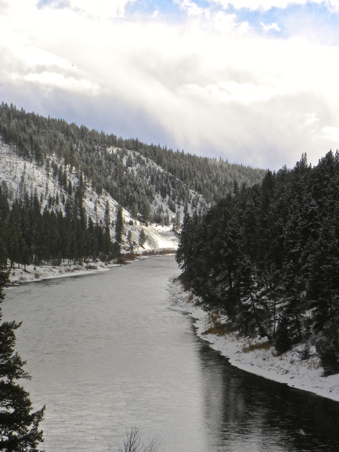 Clark Fork River in Superior