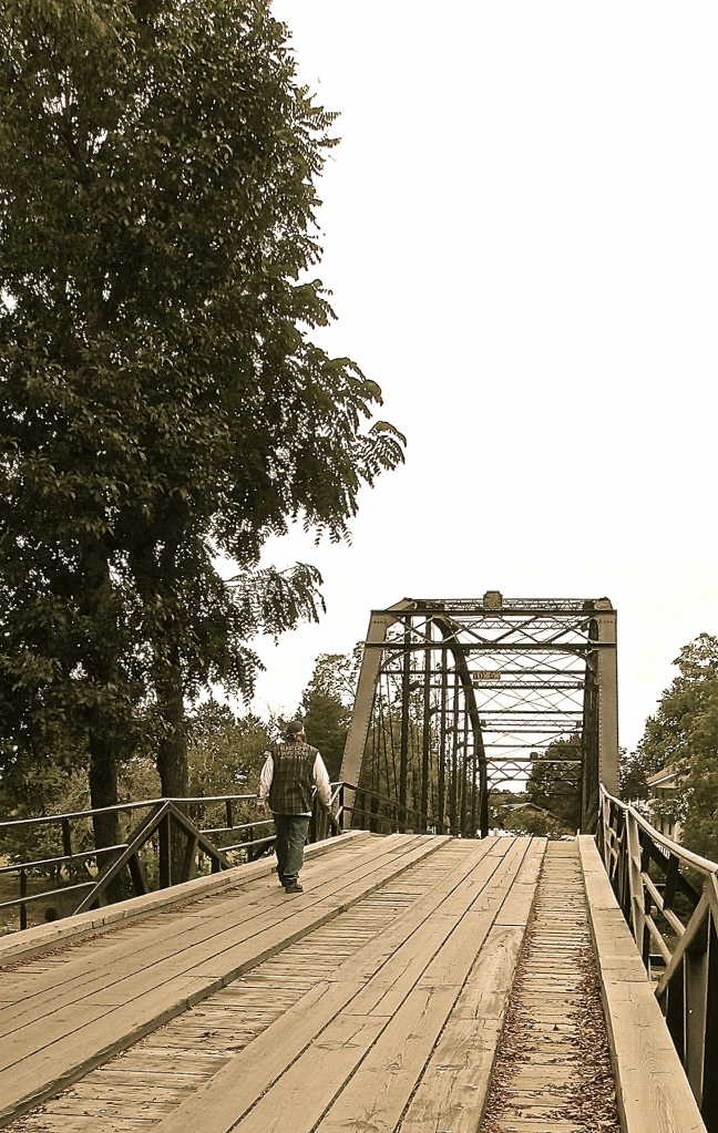 War Eagle Mill Bridge, outside of Rogers, AR