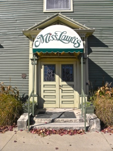 entrance to Miss Lauras