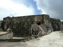 El Morro from the cannon level