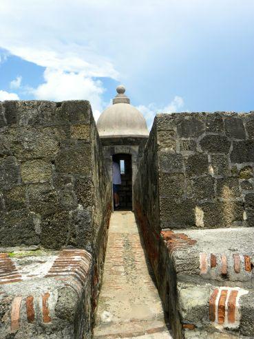 entrance to a garita