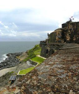 El Morro wall