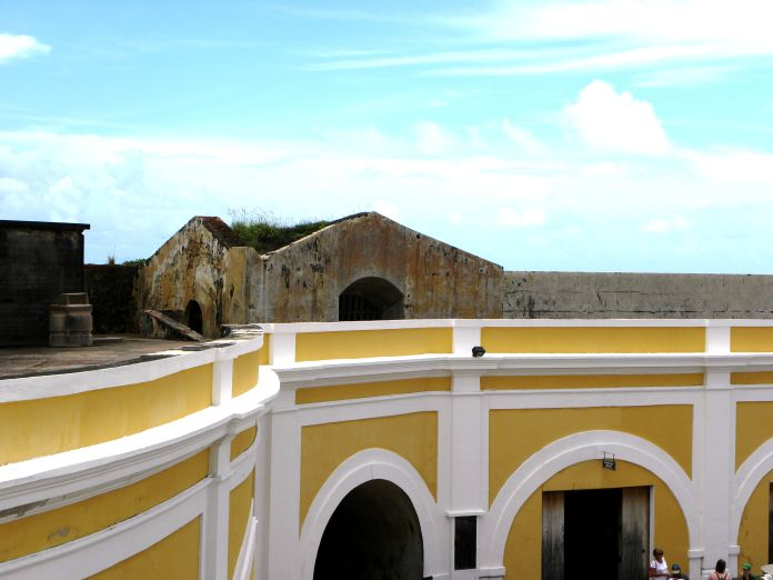 El Morro top level jail cell
