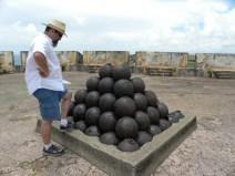 El Morro cannon balls
