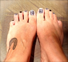 Vacation toes!